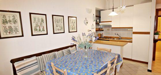 cucina e sala pranzo